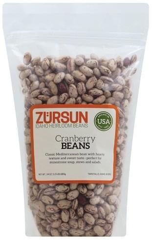 Zursun Cranberry Beans - 24 oz