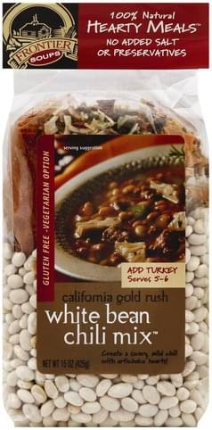 Frontier Soups White Bean Chili Mix - 15 oz