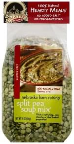 Frontier Soups Soup Mix Split Pea, Nebraska Barn Raising