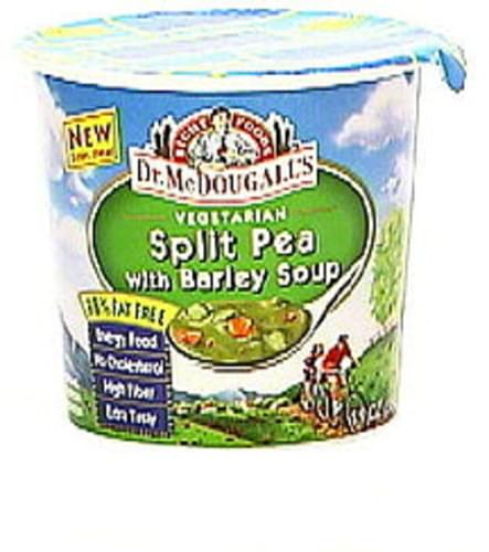 Dr. McDougall's Right Foods Vegetarian Split Pea with Barley Soup - 1.9 oz