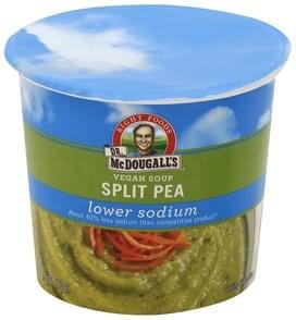 Dr McDougalls Soup Vegan, Split Pea