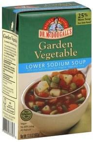 Dr McDougalls Soup Lower Sodium, Garden Vegetable