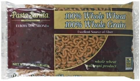 Pasta Sanita Elbow Macaroni - 16 oz