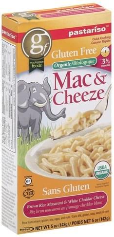 Pastariso Organic, Gluten Free Mac & Cheeze - 5 oz