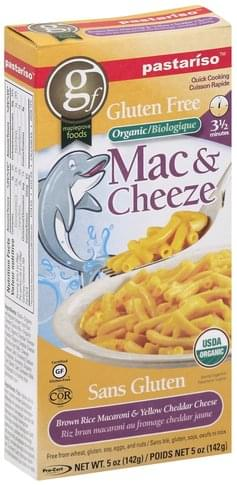 Pastariso Organic, Gluten Free Mac & Cheeze - 5 oz