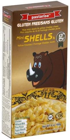 Pastariso Mini Shells & Yellow Cheddar Mac & Cheese - 6 oz