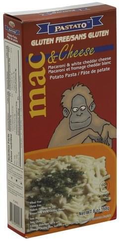 Pastato Gluten Free, White Cheddar Mac & Cheese - 6 oz