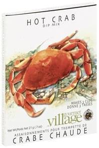 Gourmet du Village Dip Mix Hot Crab