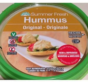 Summer Fresh Salads Hummus Original