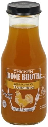 American Pantry Chicken, Turmeric Bone Broth - 9.5 oz