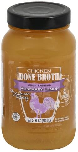 Lassonde Chicken Bone, Rosemary Lemon Broth - 24 oz