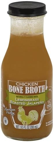 American Pantry Chicken, Lemongrass Roasted Jalapeno Bone Broth - 9.5 oz