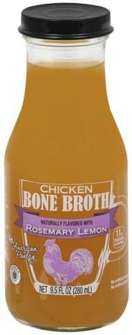 American Pantry Chicken, Rosemary Lemon Bone Broth - 9.5 oz