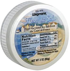 Wegmans Sea Salt Hand-Harvested