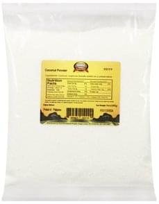 Sunrise Natural Foods Coconut Powder