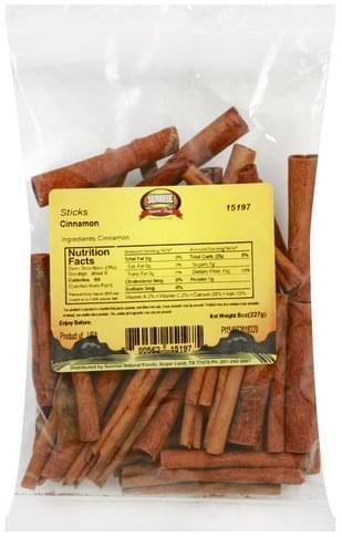 Sunrise Natural Foods Sticks Cinnamon - 8 oz
