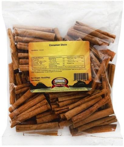 Sunrise Natural Foods Sticks Cinnamon - 16 oz