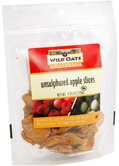 Wild Oats Apple Slices Unsulphured