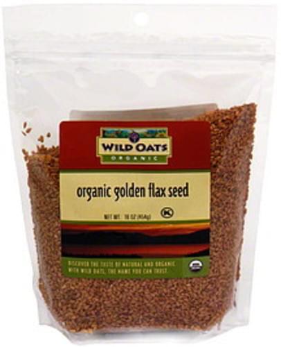 Wild Oats Organic Golden Flax Seeds - 16 oz