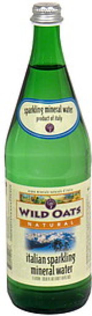 Wild Oats Italian Sparkling Mineral Water - 1 l