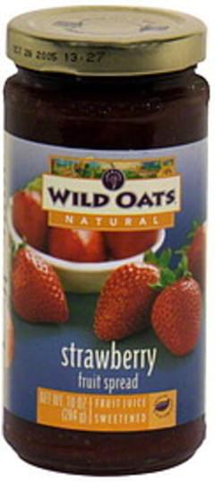 Wild Oats Fruit Spread Strawberry