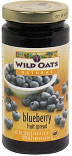 Wild Oats Fruit Spread Blueberry
