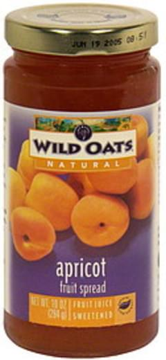 Wild Oats Fruit Spread Apricot