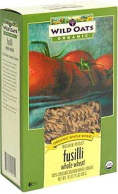 Wild Oats Whole Wheat Fusilli