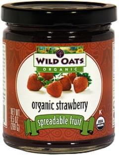 Wild Oats Spreadable Fruit Organic Strawberry