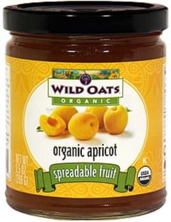 Wild Oats Spreadable Fruit Apricot