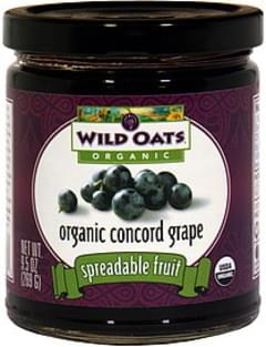 Wild Oats Spreadable Fruit Concord Grape