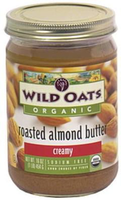 Wild Oats Roasted Almond Butter Creamy