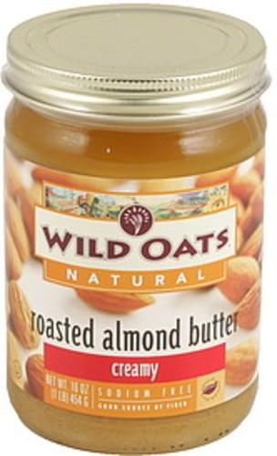 Wild Oats Creamy Roasted Almond Butter - 16 oz