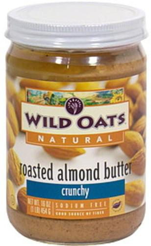 Wild Oats Crunchy Roasted Almond Butter - 16 oz