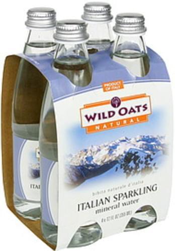 Wild Oats Italian Sparkling Mineral Water - 4 ea