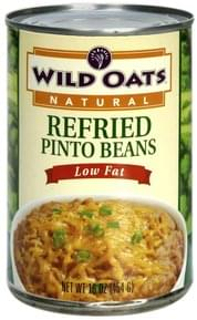 Wild Oats Refried Pinto Beans Low Fat