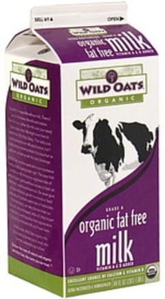 Wild Oats Milk Fat Free