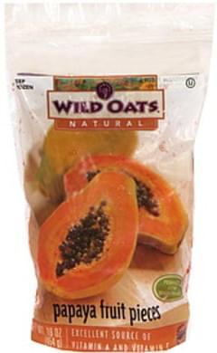Wild Oats Papaya Fruit Pieces