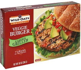 Wild Oats Veggie Burger Garden Griller