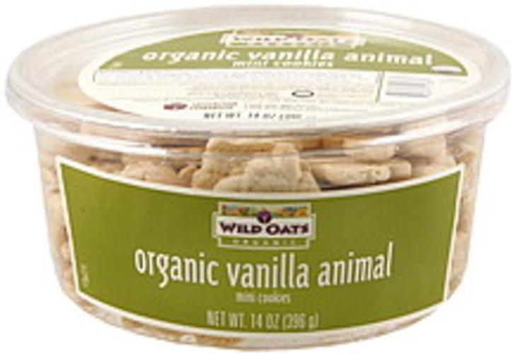 Wild Oats Vanilla Animal Mini Cookies - 14 oz