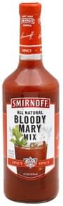 Smirnoff Bloody Mary Mix Spicy