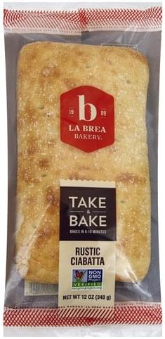 La Brea Bakery Rustic, Take & Bake