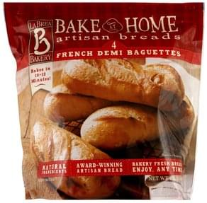 La Brea Bakery Baguettes French Demi