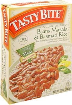 Tasty Bite Beans Masala & Basmati Rice
