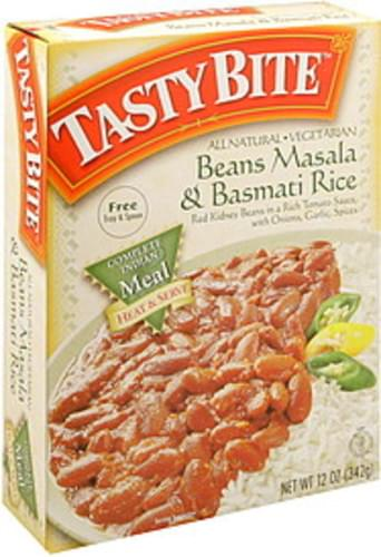 Tasty Bite Beans Masala & Basmati Rice - 12 oz