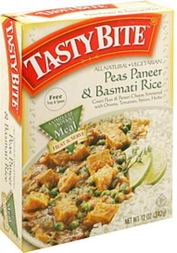 Tasty Bite Peas Paneer & Basmati Rice - 12 oz