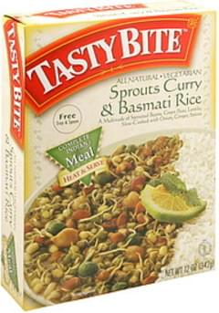 Tasty Bite Sprouts Curry & Basmati Rice