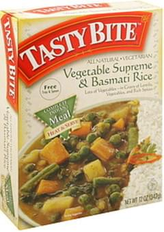 Tasty Bite Vegetable Supreme & Basmati Rice