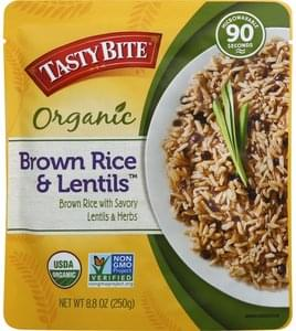 Tasty Bite Brown Rice & Lentils Organic