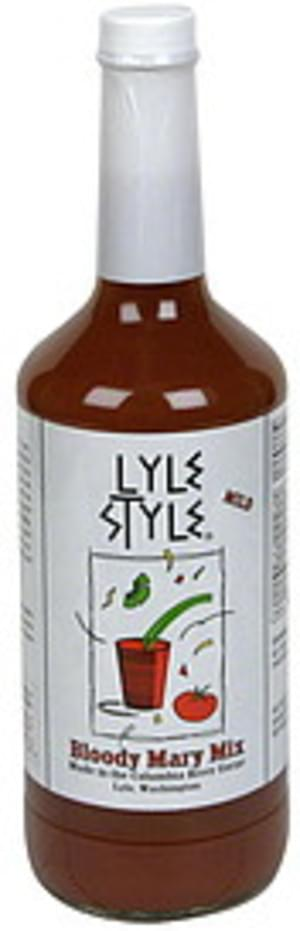 Lyle Style Mild Bloody Mary Mix - 32 oz